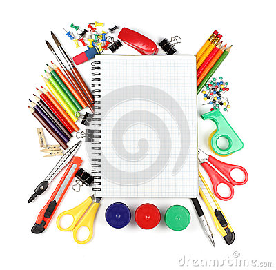 Office Supplies Background | Clipart Panda - Free Clipart Images