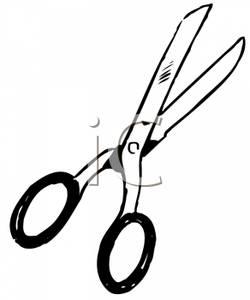 Scissors Clipart Black And White | Clipart Panda - Free