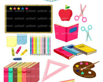School Supplies Clipart Free | Clipart Panda - Free ...
