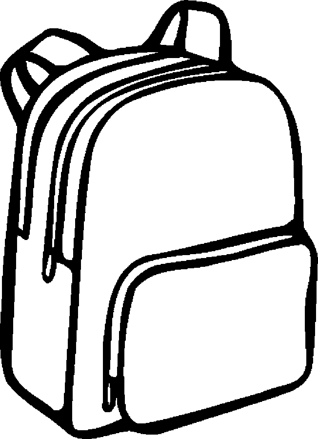 school supplies coloring pages clipart panda free