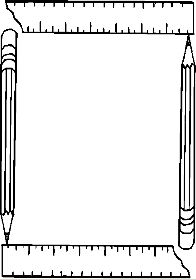 art supplies and coloring pages - photo#40