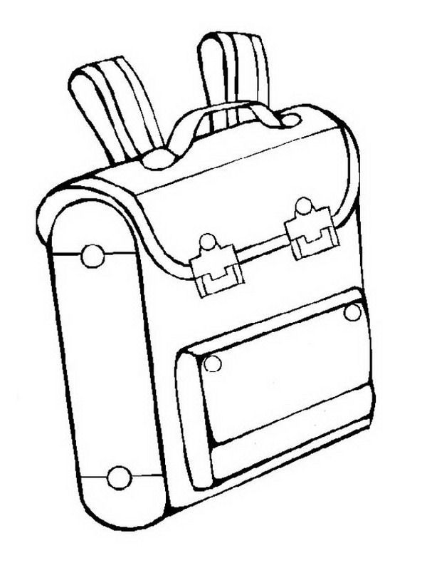 coloring pages school items - photo#19