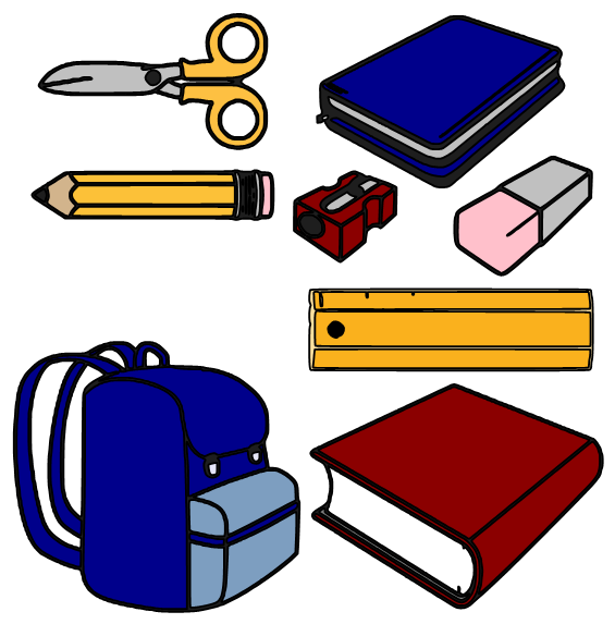 School supplies pictures clipart panda free clipart images school20supplies20pictures voltagebd Images