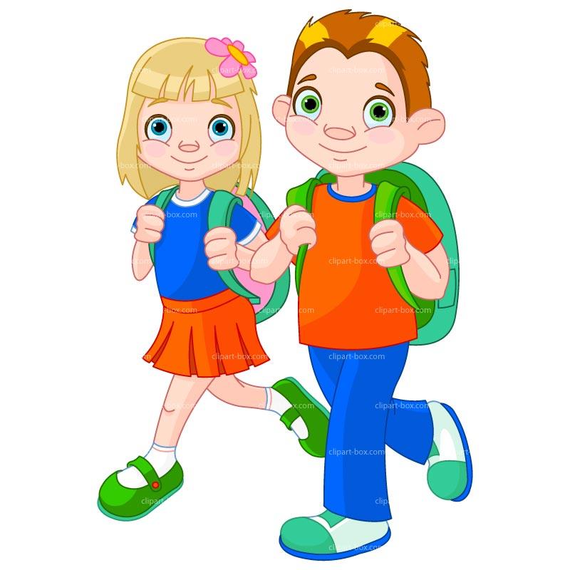 School Clipart Children