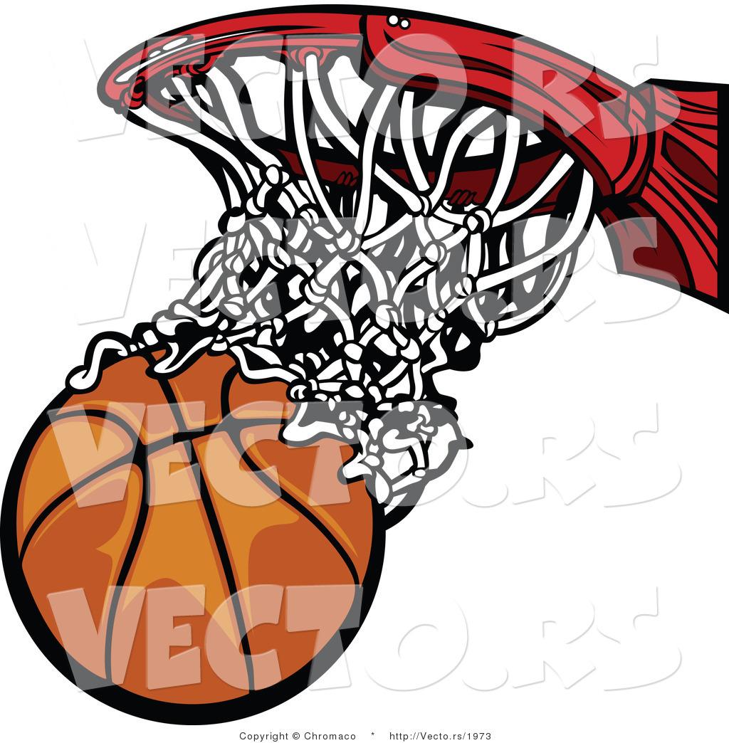 Basketball Net Logo scoring 20clipart