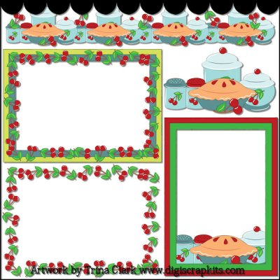 Baking Clipart Border | Clipart Panda - Free Clipart Images