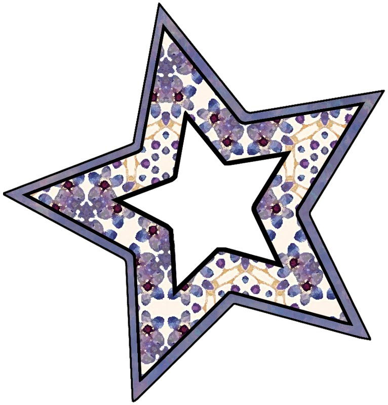Star Shaped Scrapbook Frames   Clipart Panda - Free Clipart Images