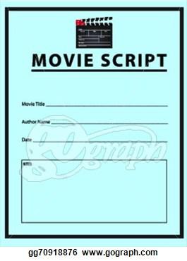 Image gallery movie script clip art Script art
