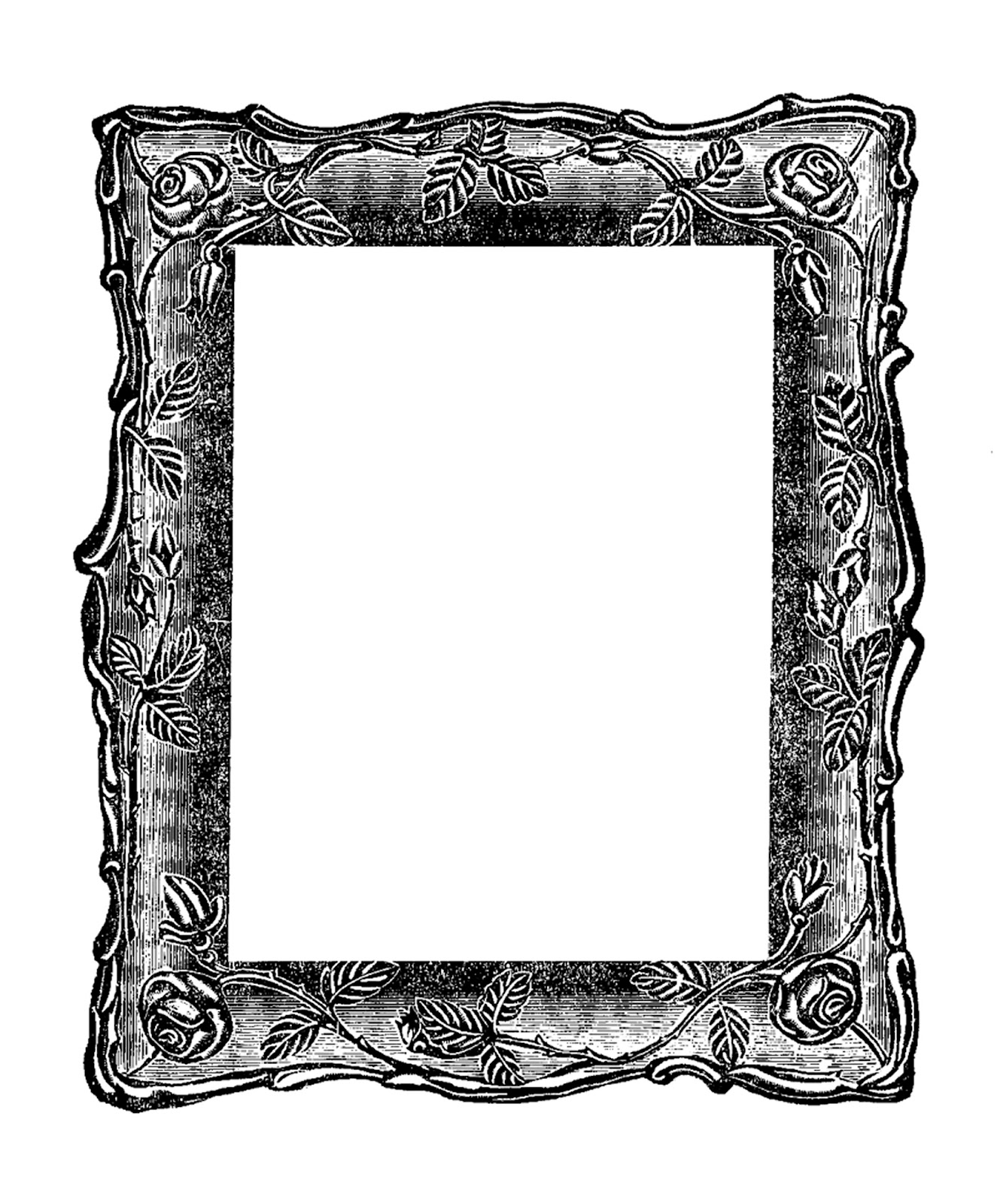 Vintage Scroll Frame C...