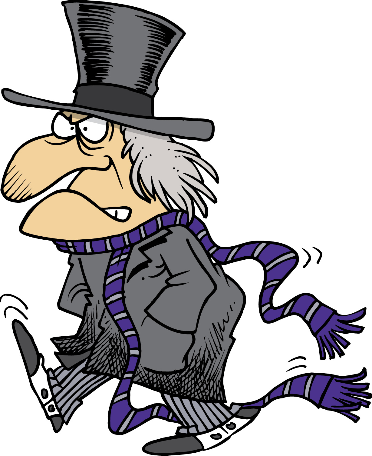 Scrooge Clipart - Synkee