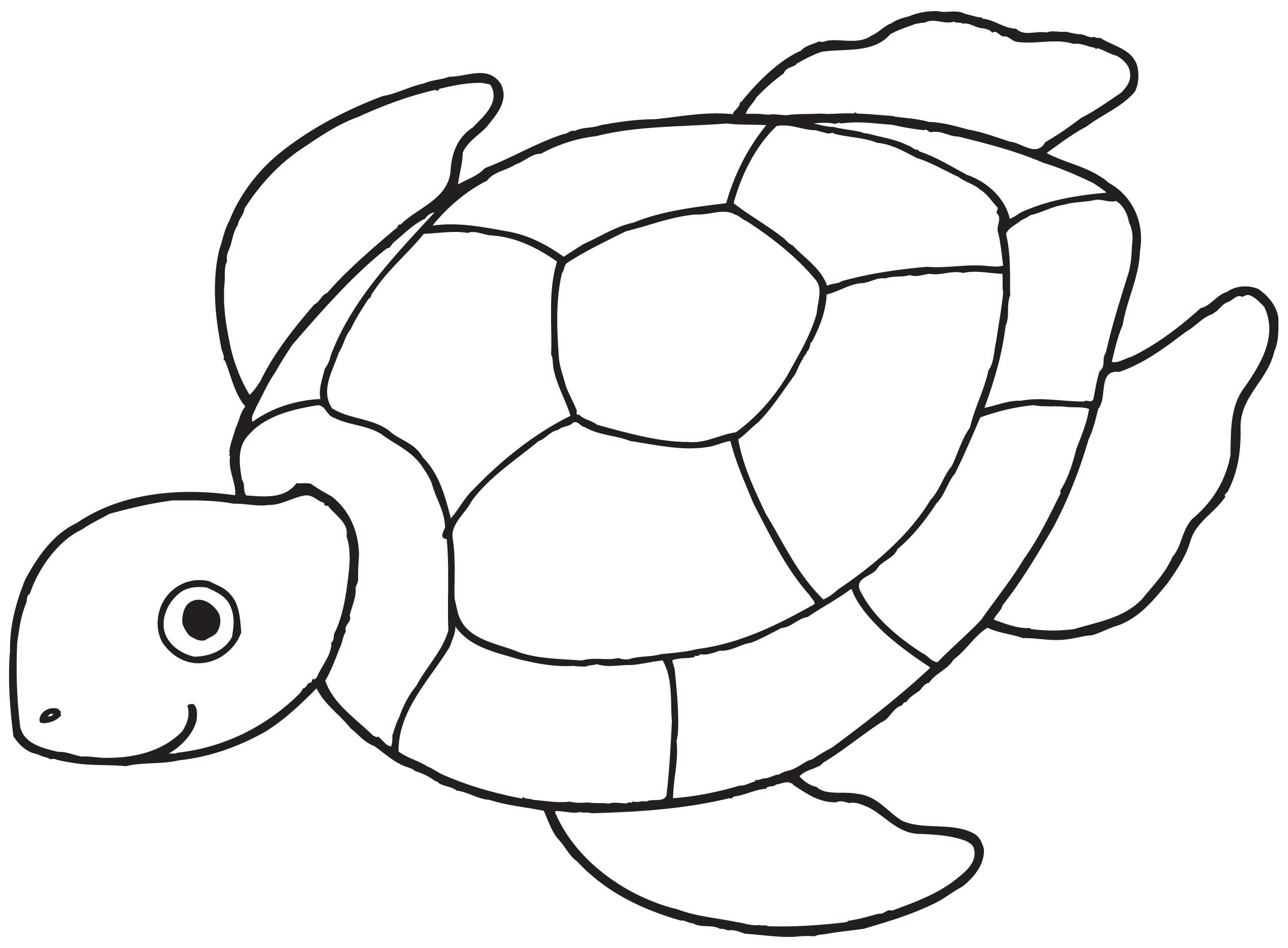 Turtle Clip Art Black And White | Clipart Panda - Free ...