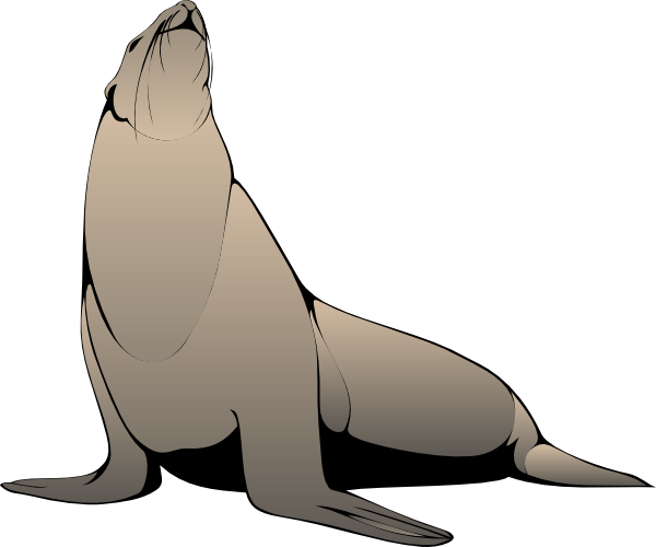 sea lion clip art free clipart panda free clipart images Leopard Cartoon Character Clip Art Black Leopard Clip Art