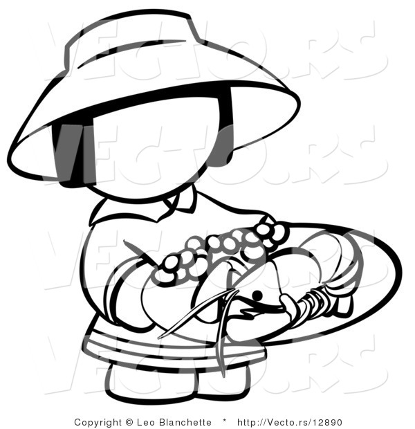 seafood coloring pages - photo#30