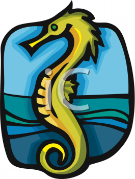 Seahorse Clip Art