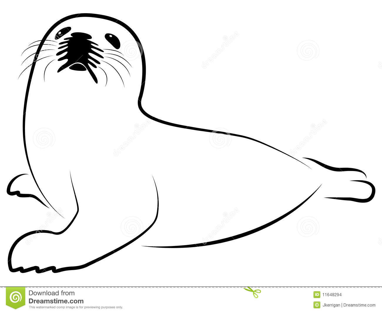 Seal Clip Art Black And White | Clipart Panda - Free ... Baby Arctic Seal Drawing