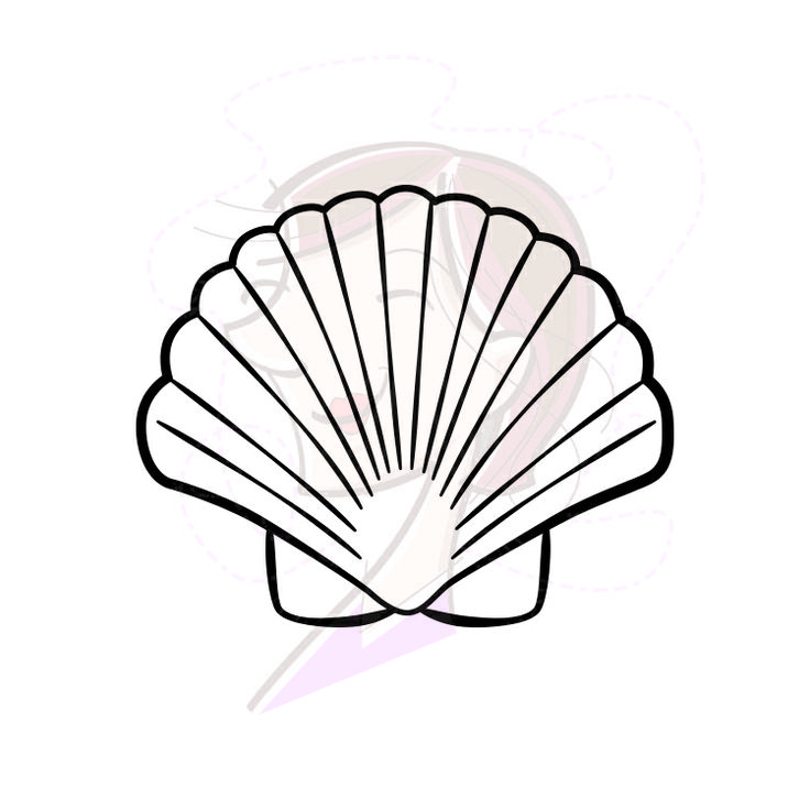 Seashell Silhouette | Clipart Panda - Free Clipart Images