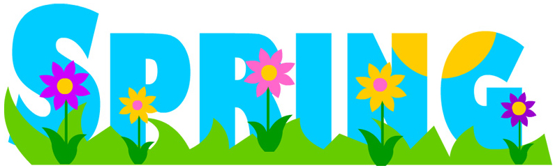 spring is here clip art