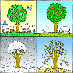 Seasons Clip Art Free on Preschool Sorting