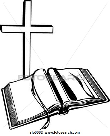cross and open bible clipart panda free clipart images