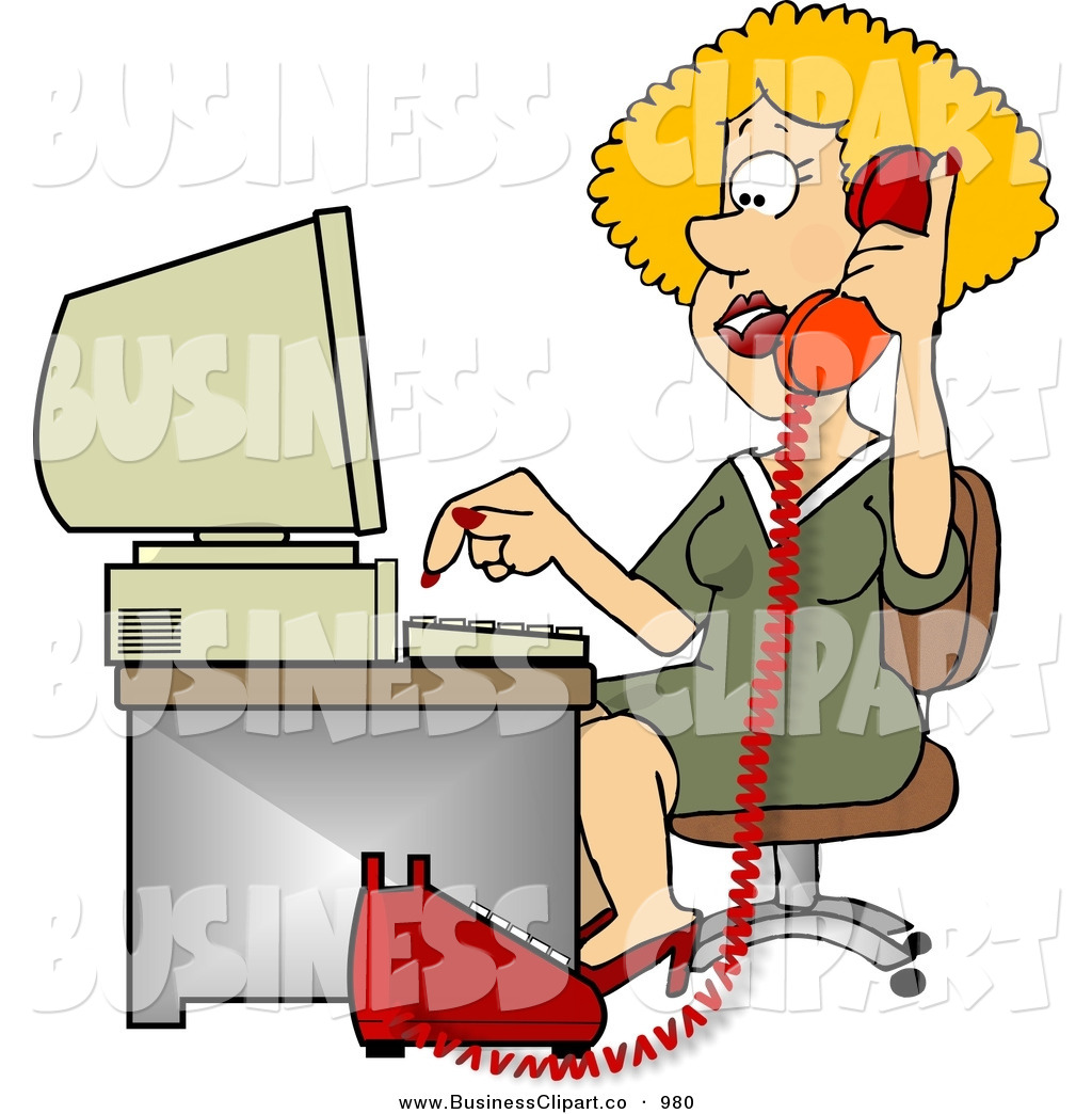 Phone Customer Service Clip Art