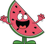 Seedless Watermelon Slice Clipart | Clipart Panda - Free ...