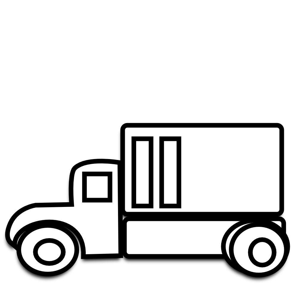 semi-clipart-pickup-truck-clipart-black-and-white-truck-clipart-black ...
