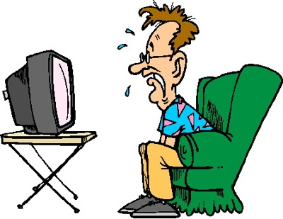 Girl watching tv clipart clipart panda free clipart images for Craft shows on tv