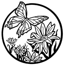 Clipart Flowers And Butterflies Clipart Panda Free