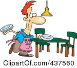 Use these free images for your websites  art projects  reports  and    Boy Setting The Table