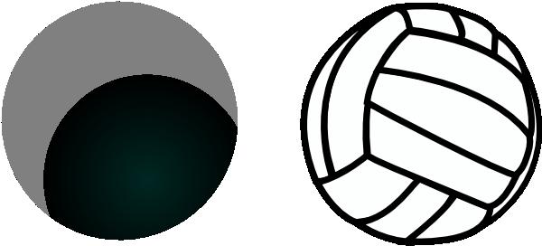 Volleyball Jump Serve Clipart