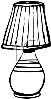 Lamp clipart black and white clipart panda free clipart images shade20clipart aloadofball Image collections