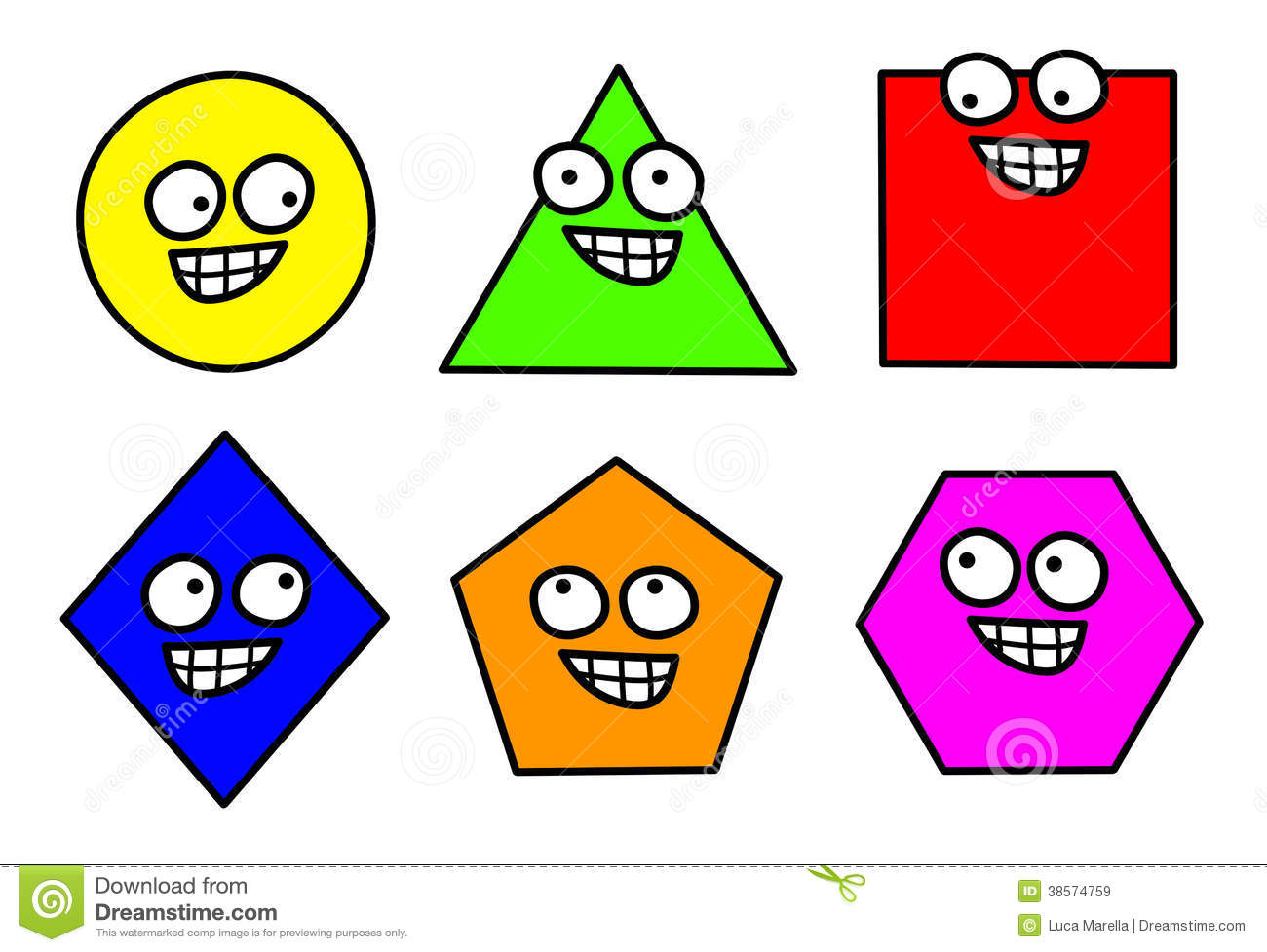 What Is Shape In Art : Shapes clip art printables clipart panda free