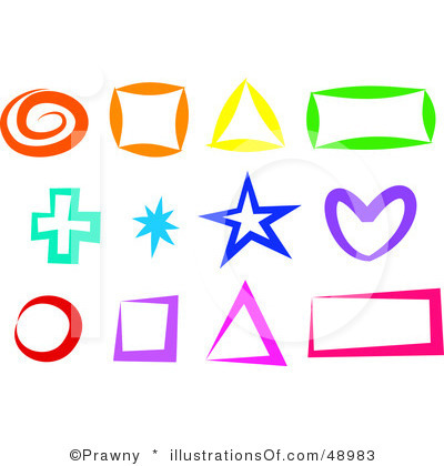 Shapes Clip Art Black And White | Clipart Panda - Free Clipart Images
