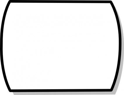 Shape clip art black white clipart panda free clipart for Black and white shapes