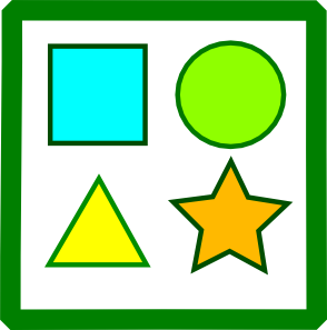 Image result for shapes clipart