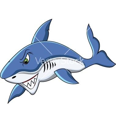 Shark cartoon vector | Clipart Panda - Free Clipart Images