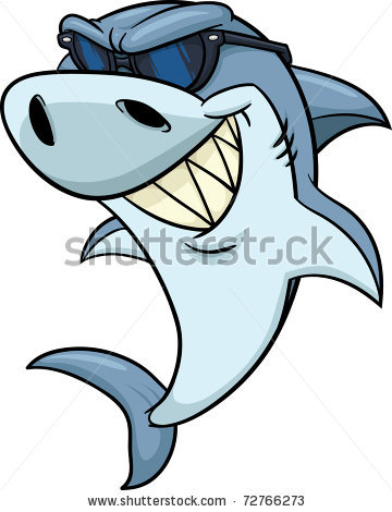 Shark cartoon clipart panda free clipart images for Cool drawings cartoon