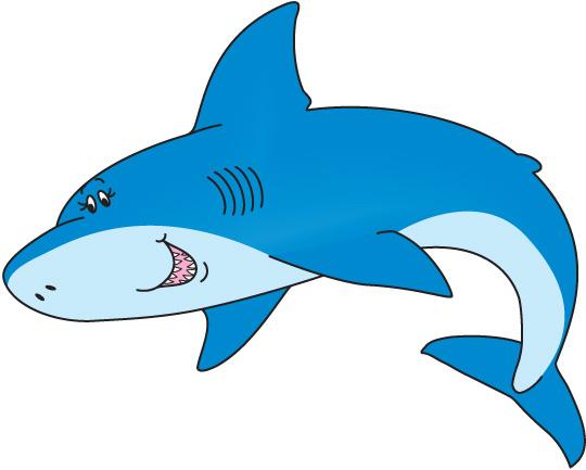 free animated shark clipart - photo #22