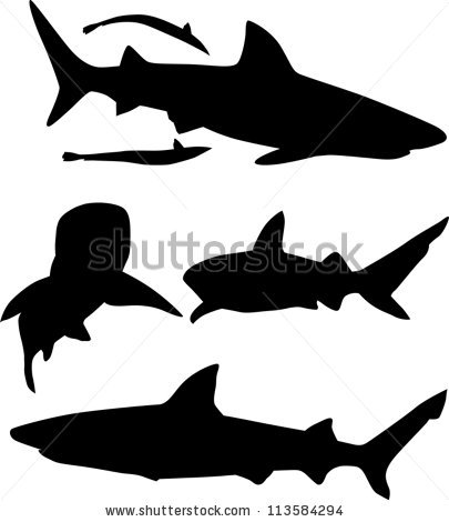 Shark Fin Illustration | Clipart Panda - Free Clipart Images