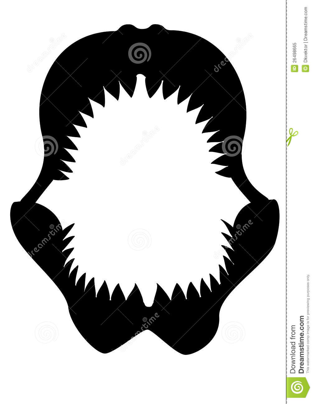 Shark Teeth Clipart | Clipart Panda - Free Clipart Images
