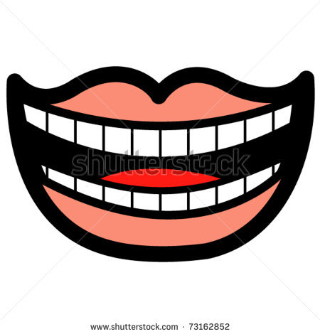 Sharp Teeth Smile | Clipart Panda - Free Clipart Images