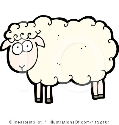 Clip Art Sheep Clipart lamb clipart black and white panda free images sheep clip art