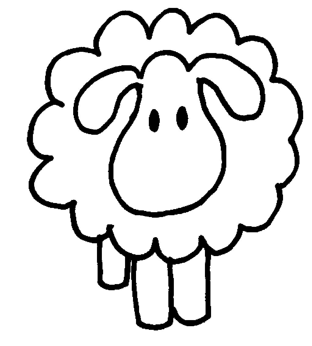 sheep%20clipart%20black%20and%20white