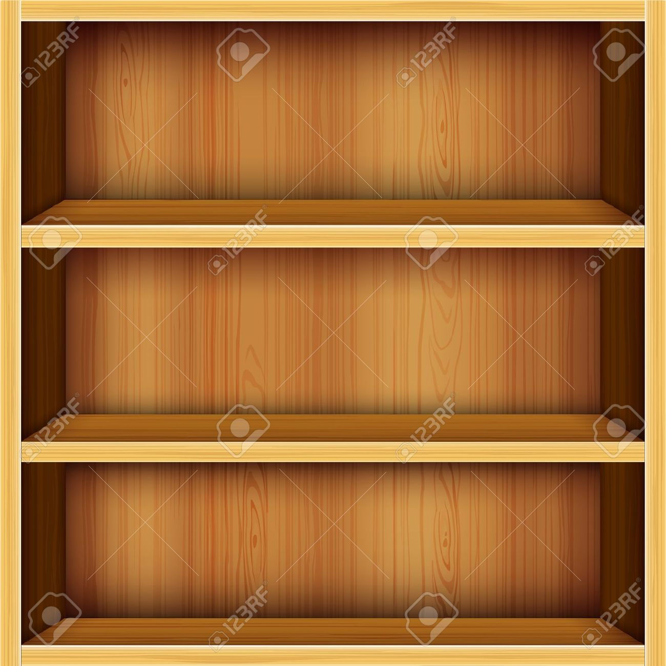 vector wooden shelves design | Clipart Panda - Free Clipart Images