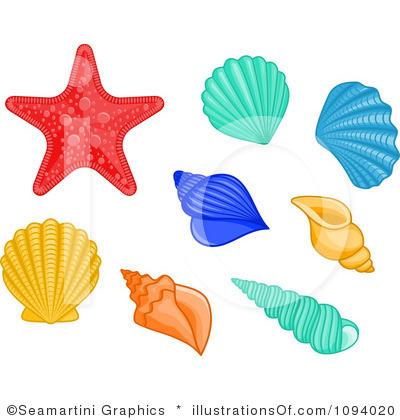 RF) Sea Shells Clipart | Clipart Panda - Free Clipart Images