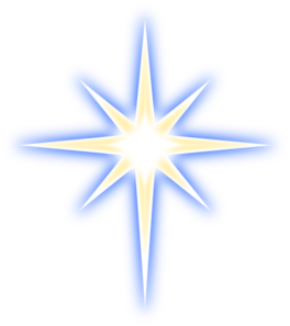 North Star clip art - vector