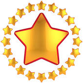 Shining Gold Star Clipart   Clipart Panda - Free Clipart ...