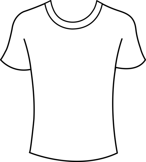 Free T Shirt Clipart and Vector Graphics  Clipartme