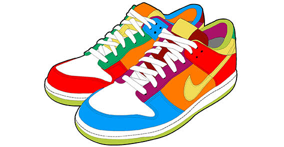 running shoes clipart clipart panda free clipart images rh clipartpanda com running shoes clipart png cartoon running shoes clipart