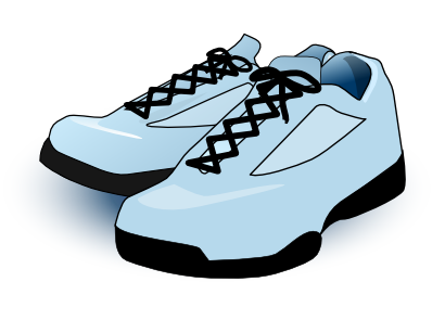 Free Tennis Shoes Clipart